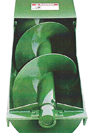 Sheahan Manure Augers   Manufactured by S D  Ellenbecker